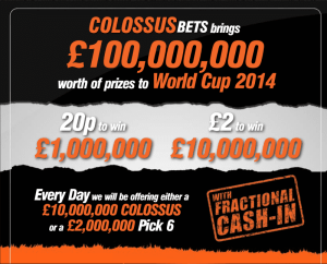 world cup 2014 cash out