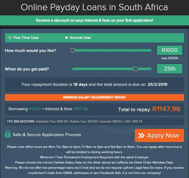 cash advance lending options meant for unemployment