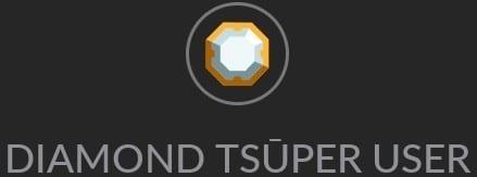 Diamond Tsuper User Badge