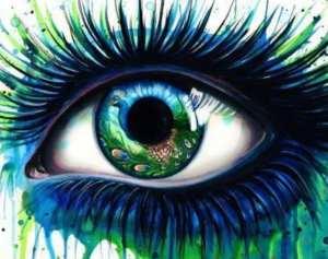 EyeSeeYou artwork eyeball eye FreeYourMind, RethinkFIT
