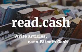 What is read.cash, earn crypto for writing articles