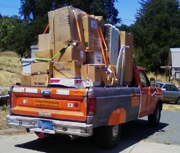 Image result for truck moving furniture