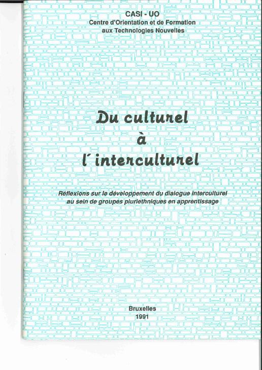 Du culturel à l'interculturel