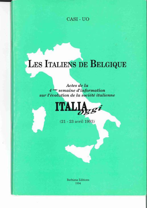 Les italiens de Belgique