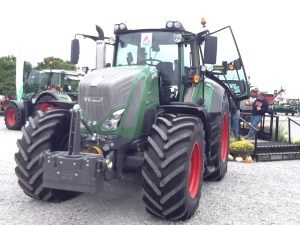 The German brand of Fendt had a presence at FSR