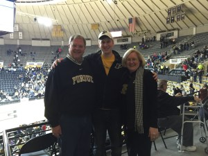 After the game, we were still in the Boilermaker spirit...