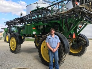 John loaded up the 4730 sprayer, and now it's ready to go to the field!