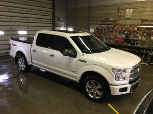 The F-150 is clean and shiny again...how long with this wash job last?