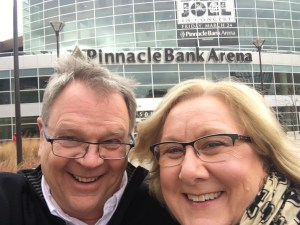Well, we were excited going IN to the arena!