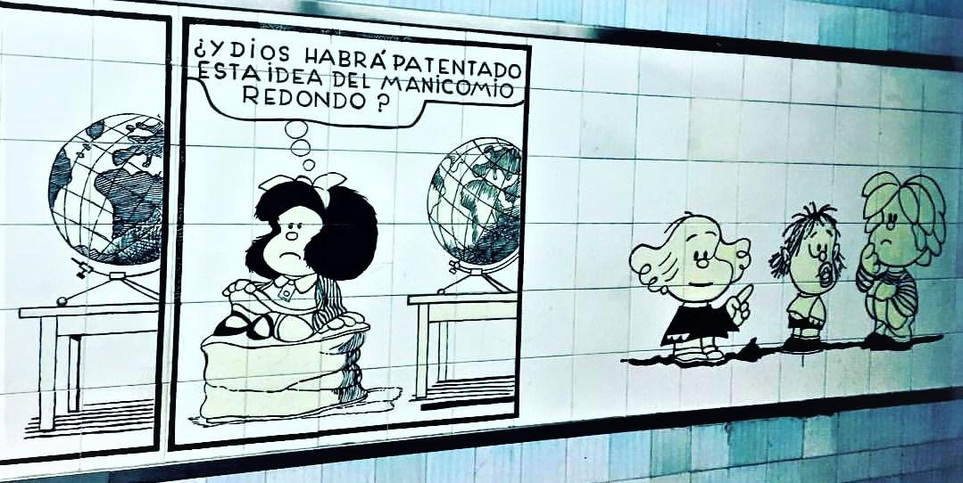 Quino, Mafalda y una realidad que sabe a sopa_ Casi literal