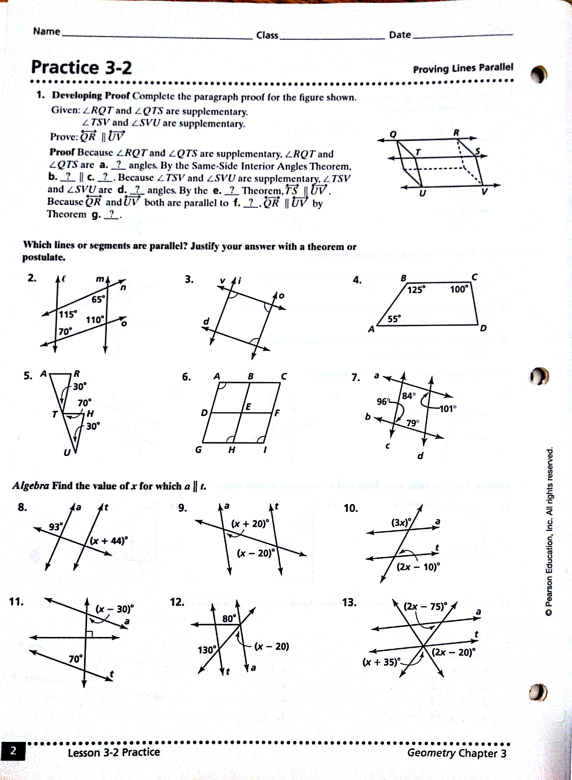 Worksheet Geometry Quadrilaterals Worksheet Grass Fedjp