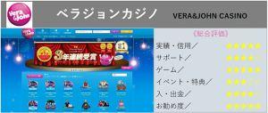 『日本人向け No.1』で選ぶなら ベラジョンカジノ