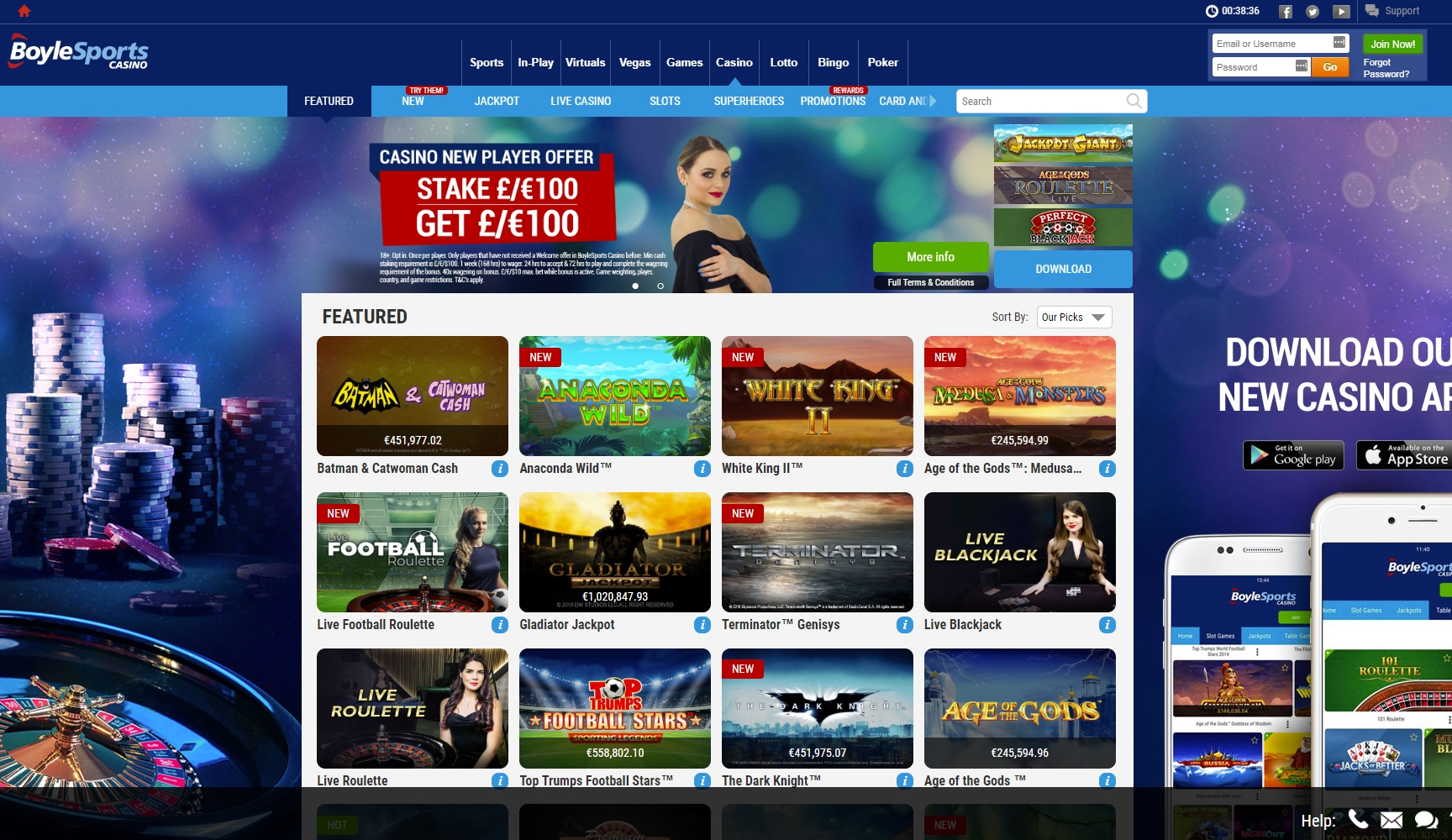 online casino tournaments free
