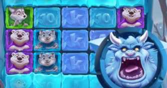 Ledus papildus griezieni Ice Ice Yeti spēļu automāts