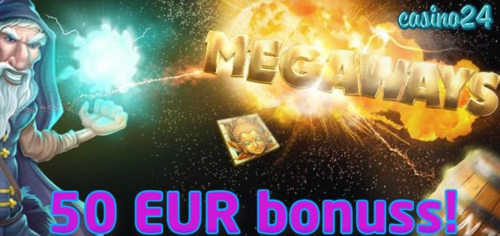 Olybet naudas bonuss 50 EUR