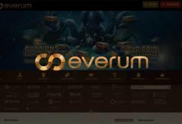 Casino Everum - официальный сайт, рабочее зеркало, онлайн игры, слоты, бонусы и промокоды. Отзывы клиентов. Регистрация в Казино Эверум. Получи свой бонус!