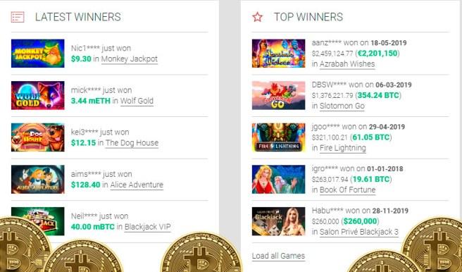 Gossip bitcoin slots no deposit bonus 2020