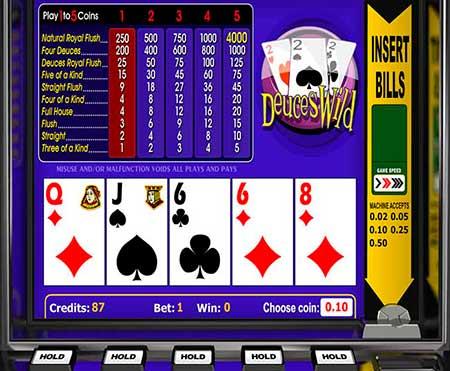 Escalera del poker texas holdem