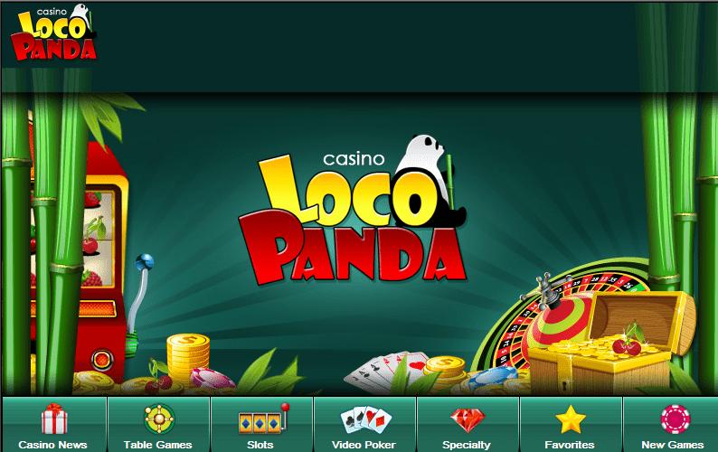 Loco Panda Casino welcoming you to an entertaining and fun casino