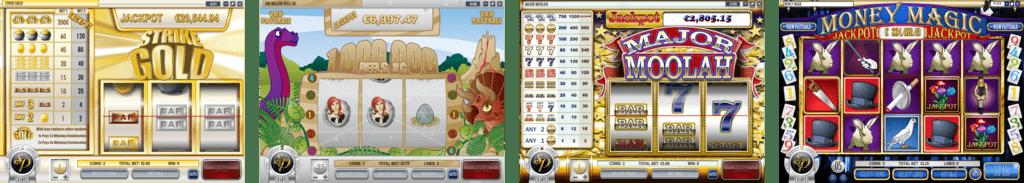 Play2Win Casino Progressive Jackpots