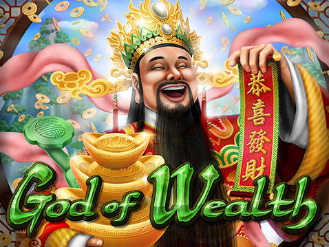 CoolCat Casino God of Wealth slot game from RTG
