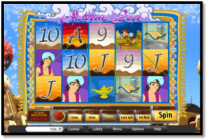 Mandarin Palace Online Casino Aladdin Reels