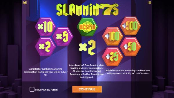 Oshi Bitcoin Casino Slammin'7s