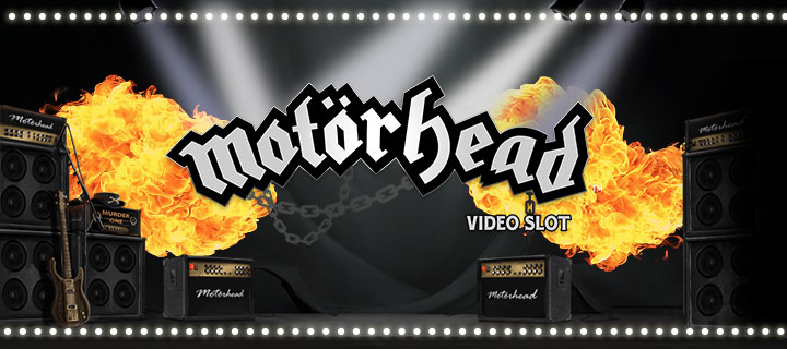 MyWIn24 Motorhead 3D Video Slots NetEnt Rock Series