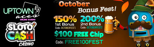 Oktoberfest: Sloto Cash Casino & Uptown Aces
