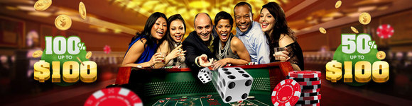 Red Star Casino 100% Bonus $100