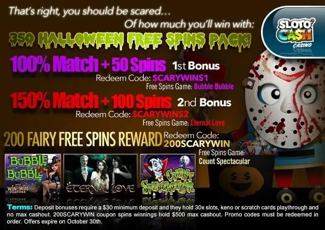SlotoCash Casino Halloween