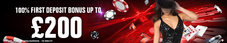 138.com Online Casino 200 Welcome Bonus