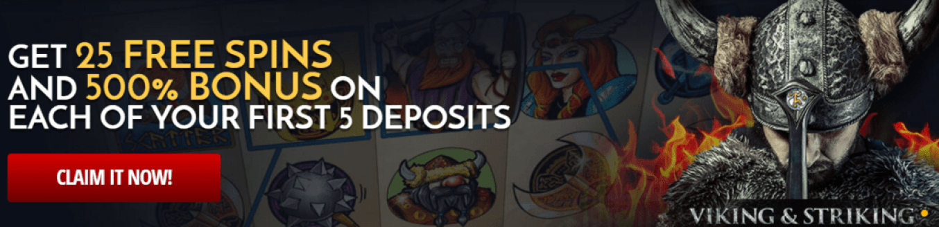 7 Spins Casino 25 FREE Spins No Deposit Bonus