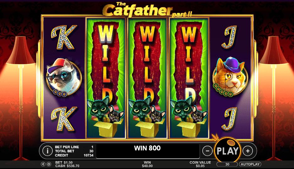 Catfather II Pragmatic Play Spartan Slots Black Diamond Casino Box 24 Casino