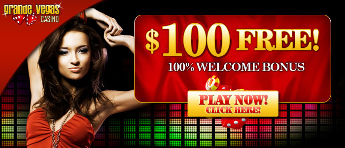 Grande Vegas Casino $500 FREE Welcome Offer