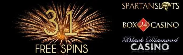 Spartan Slots Box 24 Casino Black Diamond Casino 31 FREE Spins
