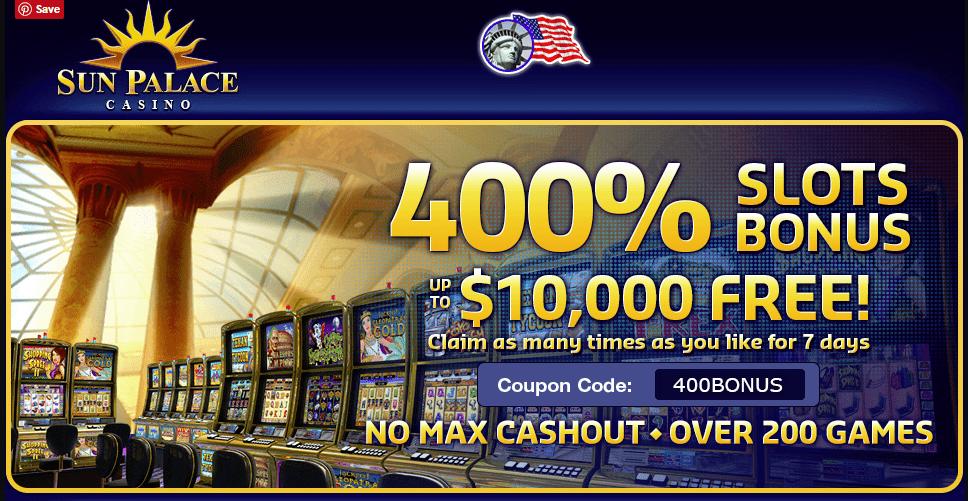 400% Casino Bonus