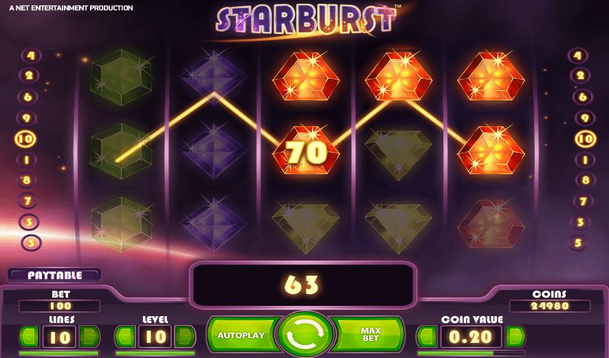 Calvin Casino Starburst NetEnt FREE Spins
