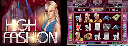 Wild Vegas Casino High Fashion 25 FREE Spins