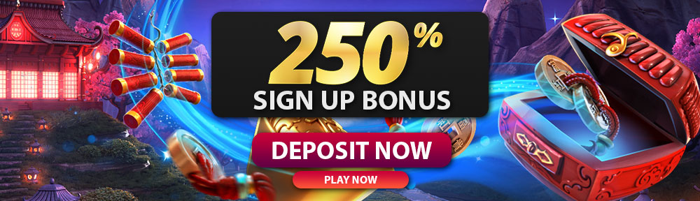 Hallmark Casino 250% Sign up Bonus up to $1000
