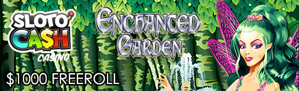 SlotoCash Casino RTG Enchanted Garden