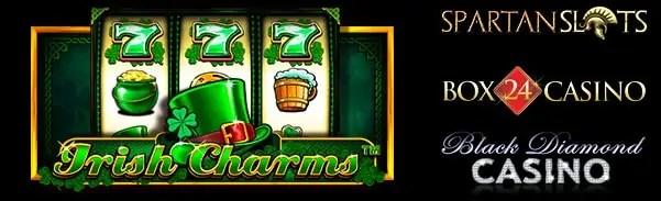 Spartan Slots Box24 Casino Black Diamond Casino Irish Charms