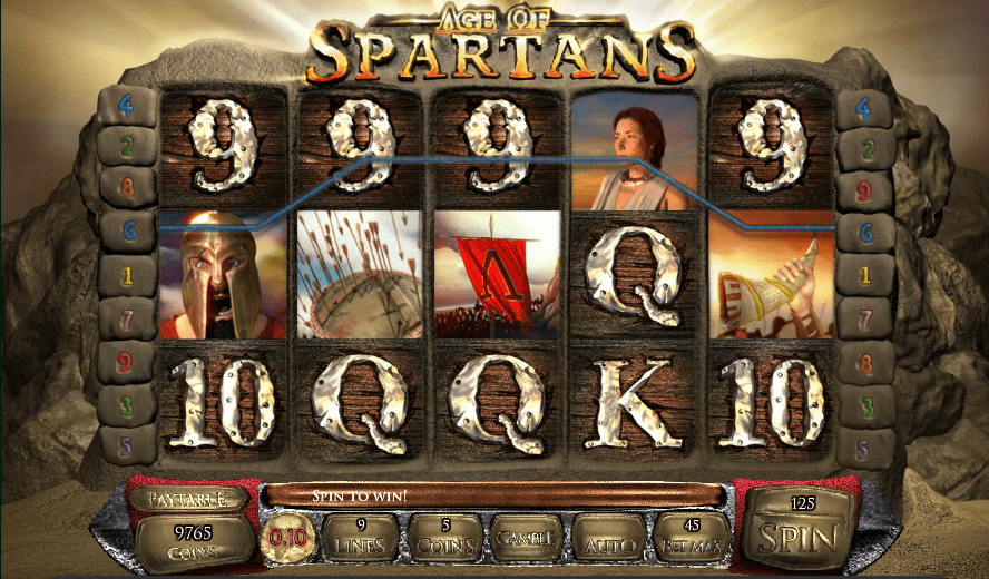 Age of Spartans Saucify 30 No Deposit FREE Spins Grand Eagle Casino