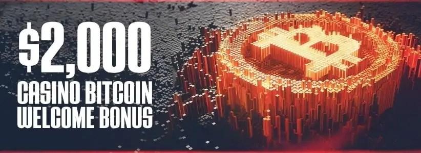 Ignition Casino $2000 Bitcoin Welcome Bonus