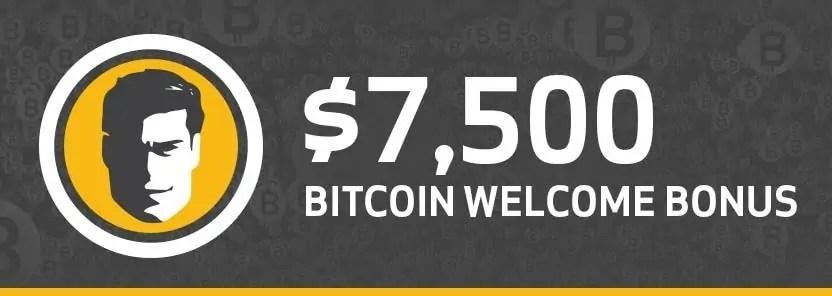 Joe Fortune $7500 Bitcoin Welcome Bonus
