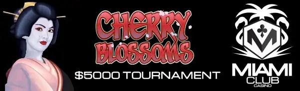 Miami Club Casino Cherry Blossoms