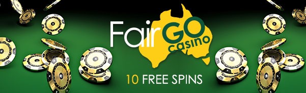 Fair Go Casino 10 FREE Spins RTG Weekend Special