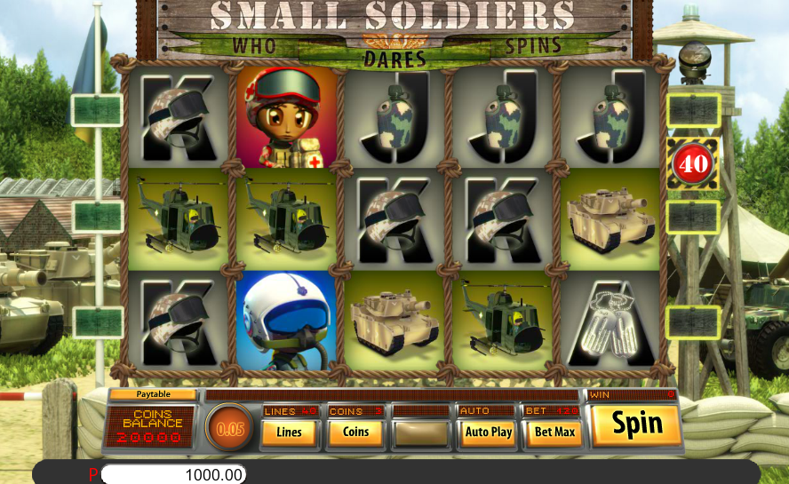 Lucky Creek Casino Saucify Small Soldiers 45 FREE Spins No Deposit Required