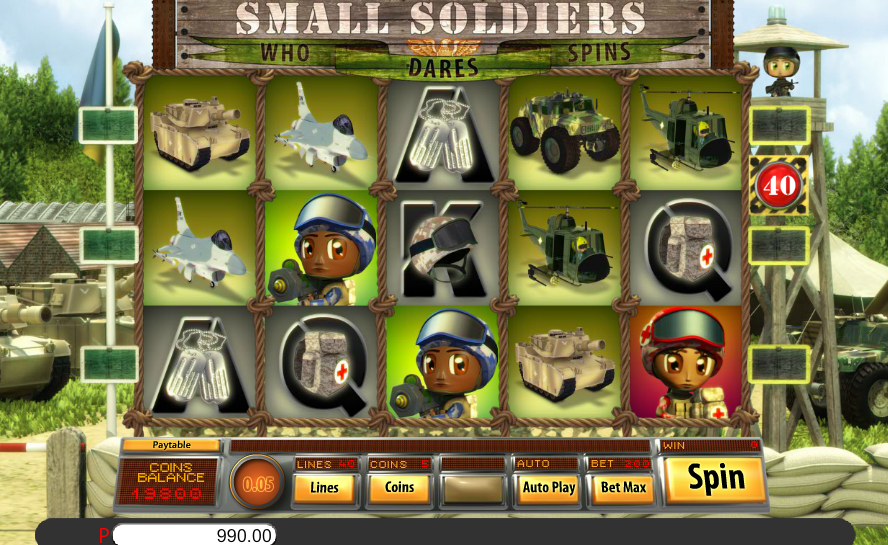 Saucify Small Soldiers 45 FREE Spins No Deposit Required