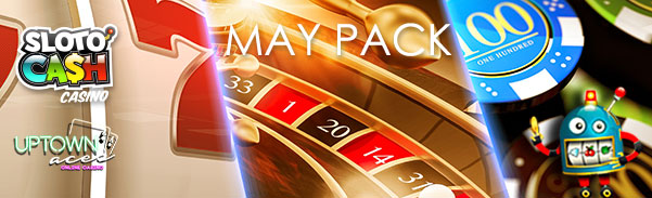 SlotoCash Casino Uptown Aces May Pack